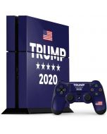 Trump 2020 Blue PS4 Console and Controller Bundle Skin