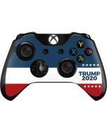 Trump 2020 Red White and Blue Xbox One Controller Skin