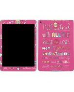 Trust in the Lord Pink Apple iPad Skin