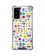 Tsum Tsum Disney Characters Galaxy S20 FE Clear Case