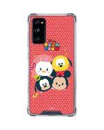 Tsum Tsum Disney Friends Galaxy S20 FE Clear Case