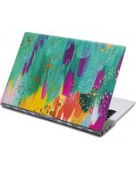 Turquoise Brush Stroke Yoga 910 2-in-1 14in Touch-Screen Skin