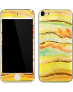 Tuscan Sun Watercolor Geode Apple iPod Skin