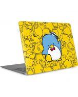 Tuxedosam Yellow Cluster Apple MacBook Air Skin