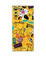 Tweety and Sylvester Patches Galaxy Note 10 Skin