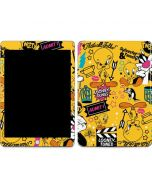 Tweety and Sylvester Patches Apple iPad Skin