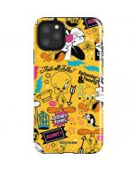 Tweety and Sylvester Patches iPhone 11 Pro Max Impact Case