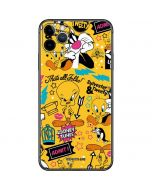 Tweety and Sylvester Patches iPhone 11 Pro Max Skin