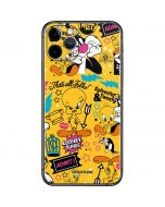 Tweety and Sylvester Patches iPhone 11 Pro Skin
