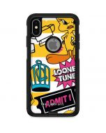 Tweety and Sylvester Striped Patches Otterbox Commuter iPhone Skin
