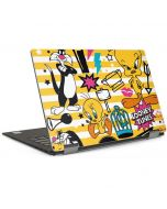 Tweety and Sylvester Striped Patches Dell XPS Skin
