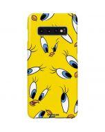 Tweety Bird Super Sized Pattern Galaxy S10 Plus Lite Case