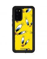 Tweety Bird Super Sized Pattern Galaxy S20 Waterproof Case