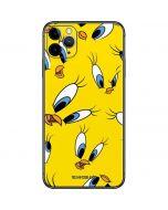 Tweety Bird Super Sized Pattern iPhone 11 Pro Max Skin