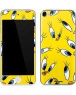 Tweety Bird Super Sized Pattern Apple iPod Skin