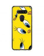 Tweety Bird Super Sized Pattern LG K51/Q51 Clear Case