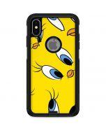 Tweety Bird Super Sized Pattern Otterbox Commuter iPhone Skin