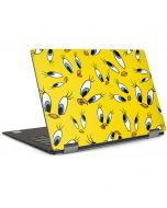 Tweety Bird Super Sized Pattern Dell XPS Skin