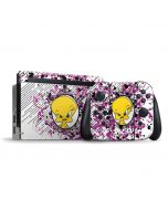 Tweety Bird with Attitude Nintendo Switch Bundle Skin