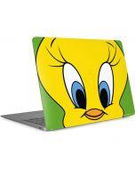 Tweety Bird Zoomed In Apple MacBook Air Skin