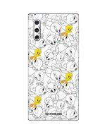Tweety Super Sized Pattern Galaxy Note 10 Skin