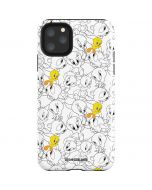 Tweety Super Sized Pattern iPhone 11 Pro Max Impact Case