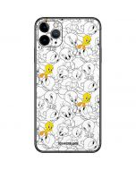 Tweety Super Sized Pattern iPhone 11 Pro Max Skin