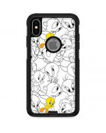 Tweety Super Sized Pattern Otterbox Commuter iPhone Skin