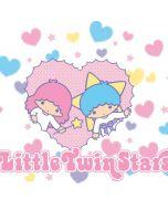 Little Twin Stars Hearts PS4 Slim Bundle Skin