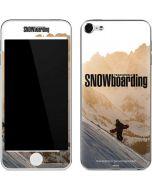 TransWorld SNOWboarding Sunset Apple iPod Skin