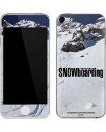 TransWorld SNOWboarding Mountain Apple iPod Skin