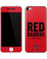 Red Raiders Apple iPod Skin