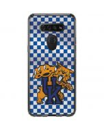 UK Checkered LG K51/Q51 Clear Case