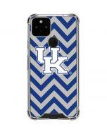 UK Kentucky Chevron Google Pixel 5 Clear Case