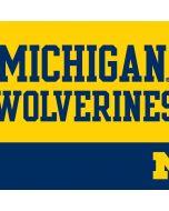 Michigan Wolverines Split Apple AirPods Skin