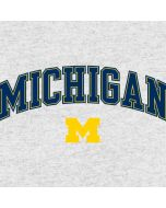 University of Michigan Heather Grey Galaxy J3 Skin