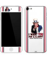 Uncle Sam Vintage War Poster Apple iPod Skin