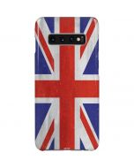 United Kingdom Flag Distressed Galaxy S10 Plus Lite Case