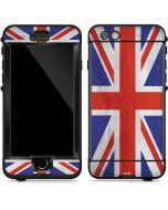 United Kingdom Flag Distressed LifeProof Nuud iPhone Skin