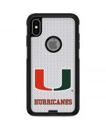 University of Miami Mesh Otterbox Commuter iPhone Skin