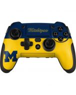University of Michigan Split PlayStation Scuf Vantage 2 Controller Skin