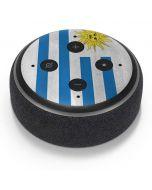 Uraguay Flag Distressed Amazon Echo Dot Skin