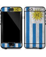 Uraguay Flag Distressed LifeProof Nuud iPhone Skin