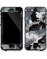 Urban Camouflage Black LifeProof Nuud iPhone Skin