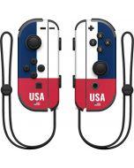 USA Flag Color Block Nintendo Joy-Con (L/R) Controller Skin