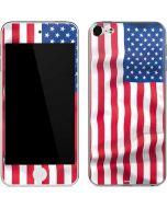 USA Flag Apple iPod Skin