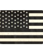 Black & White USA Flag iPhone XS Waterproof Case