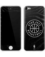 Utah Jazz Black Animal Print Apple iPod Skin