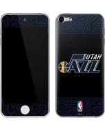 Utah Jazz Dark Elephant Print Apple iPod Skin