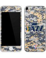 Utah Jazz Grey Digi Camo Apple iPod Skin